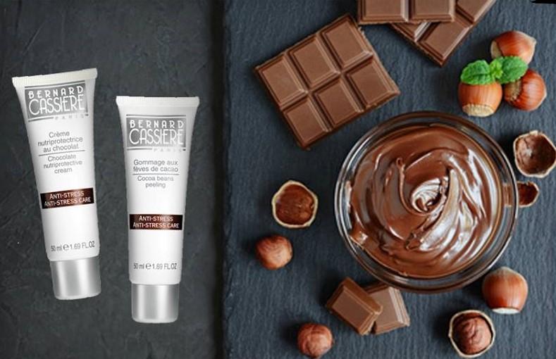 ショコラスキンケア、チョコレート、ストレス肌ケア